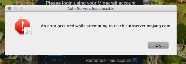 Launcher not letting me log in - Technic Launcher - Technic